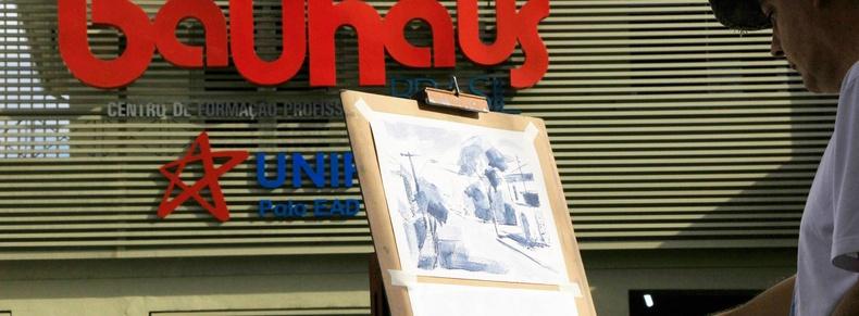 """Abertura da exposição """" Premiados Almeida Junior"""" na Bauhaus Piracicaba"""