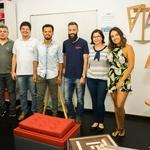 Turma de Design de Móveis com o Professor João Paulo