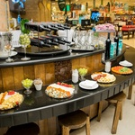 Café de queijos e vinhos oferecido pelo Supermercado Pão de Açúcar