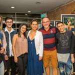 Os Fotomaníacos, seu Professor e modelos