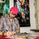 Noite de autógrafos com Rodrigo Mazer